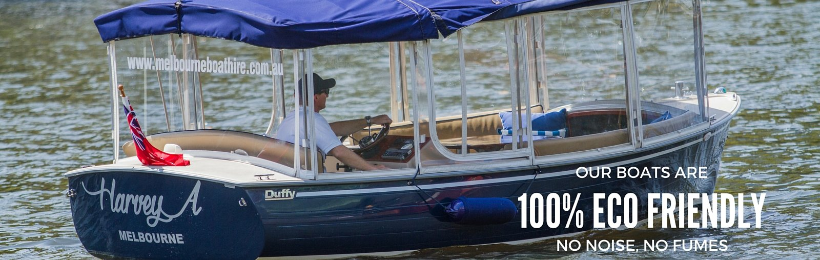 Melbourne's only eco-friendly hire boats for rent