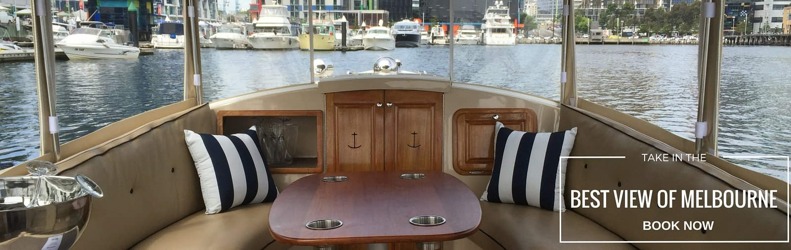 get the best seat in the house with Melbourne Boat Hire