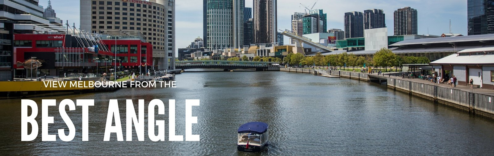 View Melbourne from the best angle with Melbourne Boat Hire