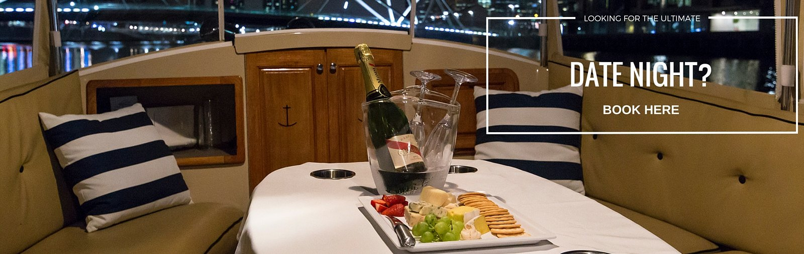 Date night in Melbourne take a romantic cruise on the Yarra River