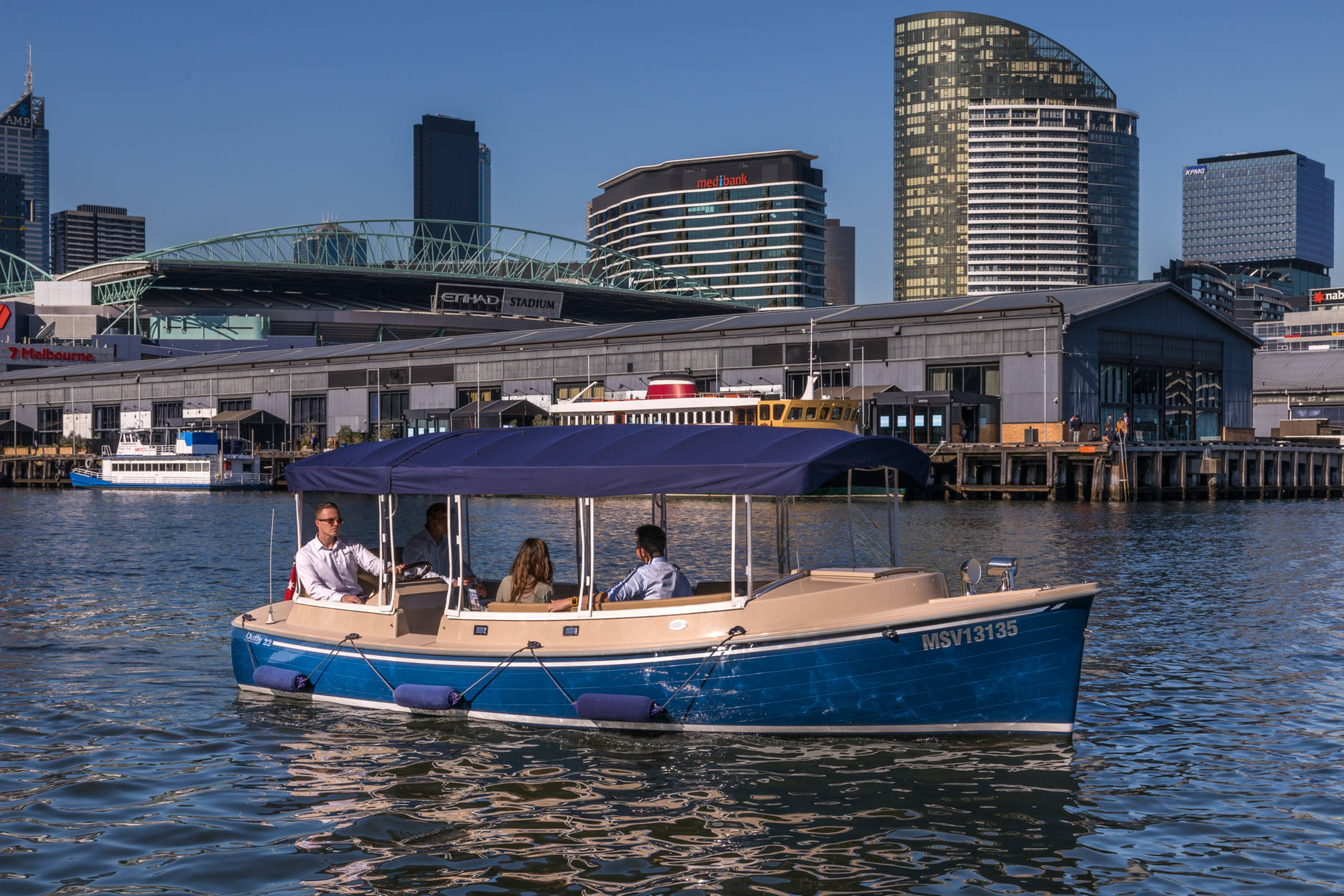 self-drive boat rentals in Melbourne