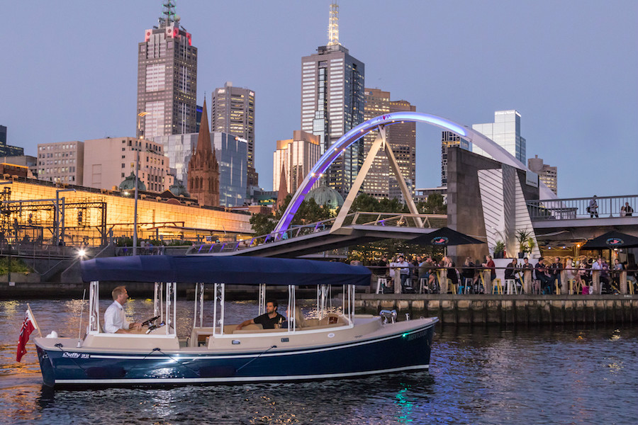 Yarra River boat rides in Southbank Melbourne