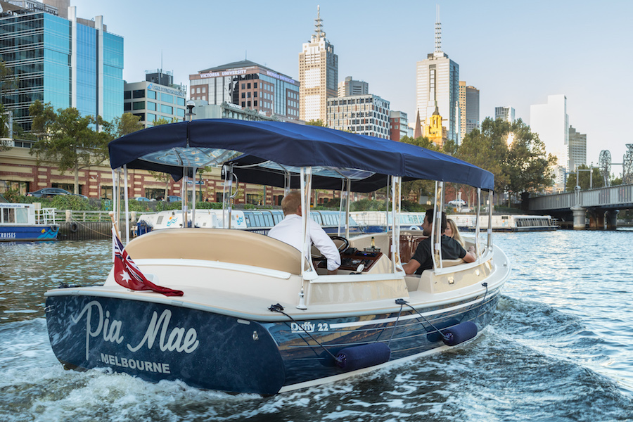 Business and corporate function hire boats in Melbourne