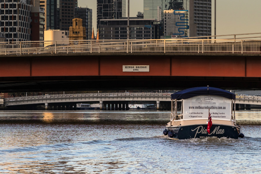 enjoy a catered sunset cruise in melbourne