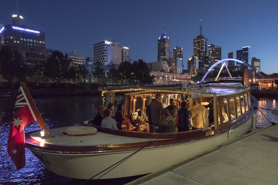 private luxury boat trips on Yarra River Melbourne