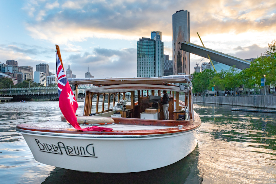 large function boat with dance floor for hire Melbourne docklands