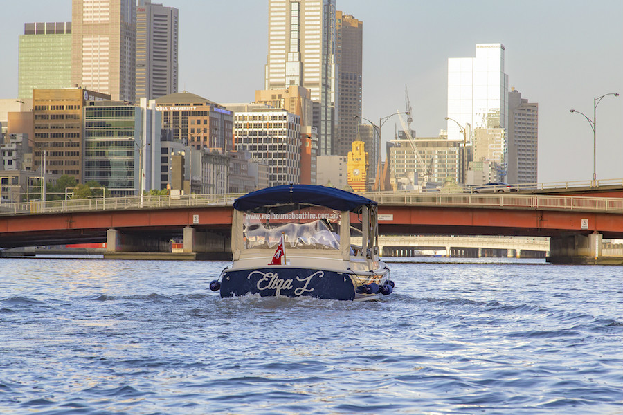 Yarra River Cruises in private hire boats