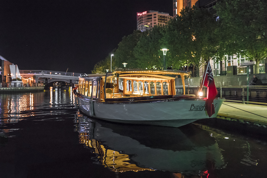 taxi boats for private group hire, Southbank Melbourne