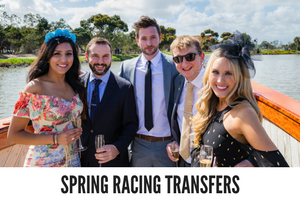 Water Taxi Transfers to Spring Racing Carnival Flemington