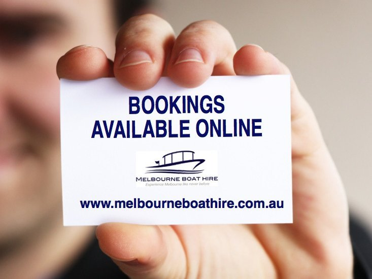 Melbourne Boat Hire bookings available online fast and easy