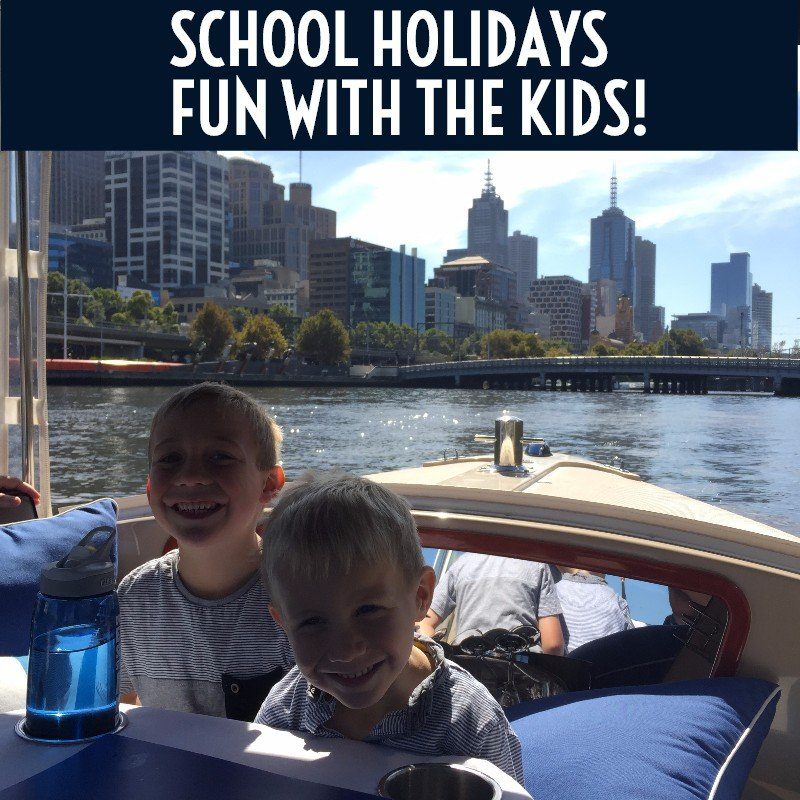 Looking for a fun activity for the kids this school holidays - hire a boat and take them for a cruise on the Yarra River