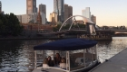 Take a private cruise on the Yarra River Melbourne