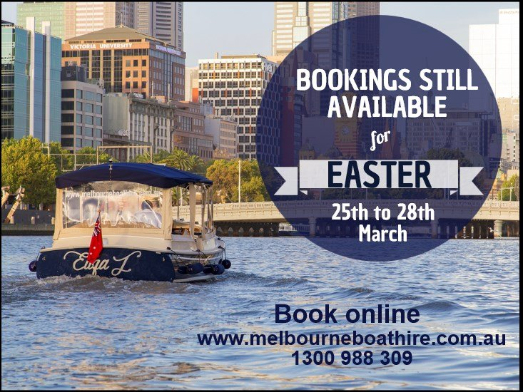 Melbourne Boat Hire Easter fun with the family