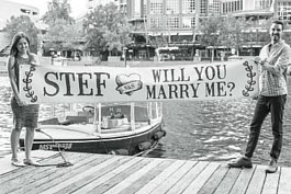 Wedding proposals on board-Engagements Melbourne