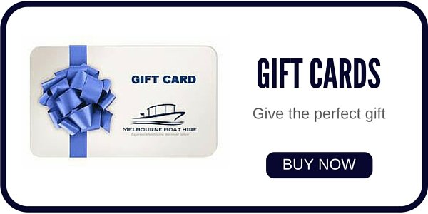 buy gift vouchers online for boat hire in Melbourne