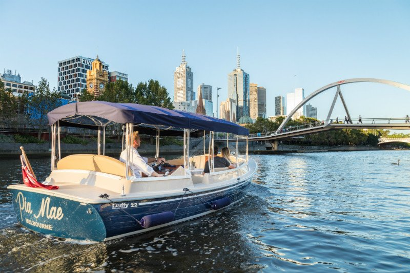 Image result for melbourne boat hire kids