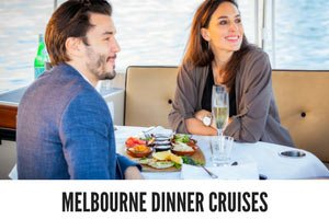 options for couples' dinner cruises in Melbourne