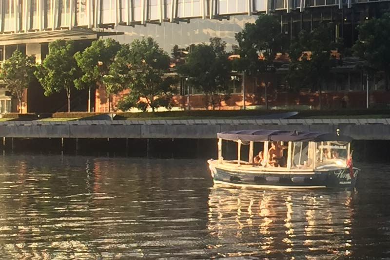 book a luxury boat cruise on the yarra river in winter