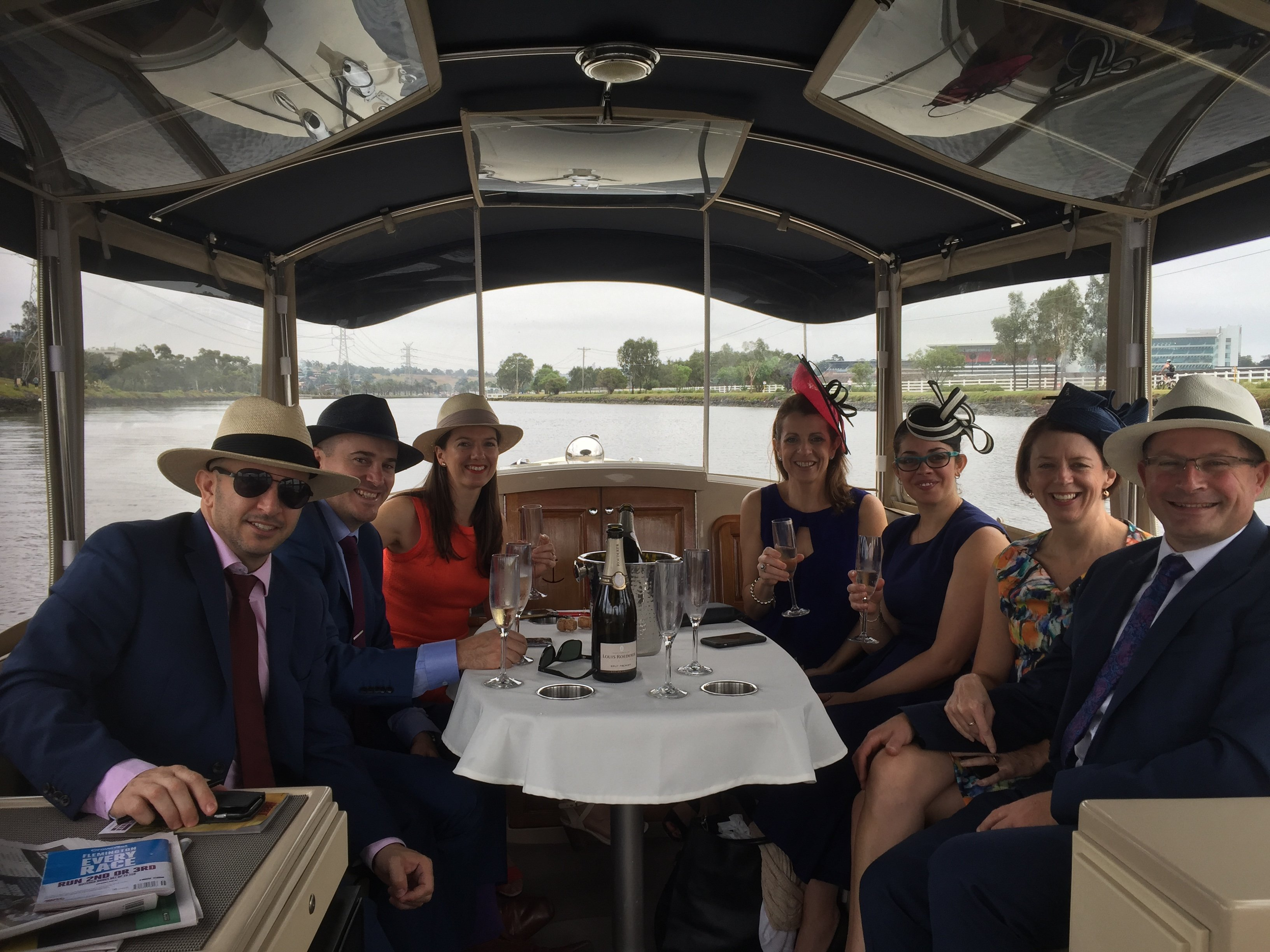 enjoy stylish travel to Flemington, for the Melbourne Cup this year