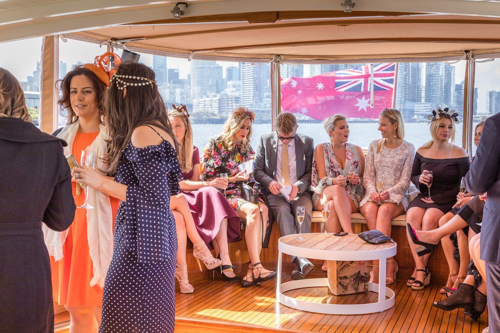 exclusive use of private hire boats for birthdays, Melbourne