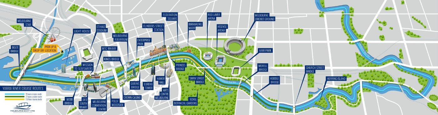 Yarra River Cruises | Yarra River Cruise Melbourne | Melbourne Boat on niger river australia map, athens metro map, narmada river map, trail map, snowy river australia map, derwent river australia map,