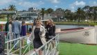 water taxi transfers in luxury passenger boats, to the spring racing carnival