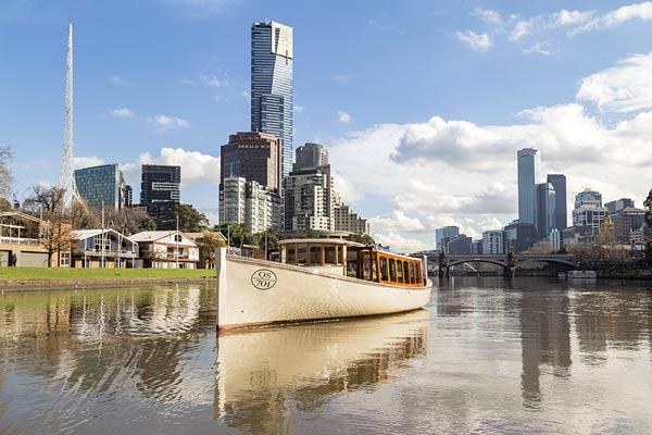 Hens parties Melbourne onboard Birrarung private charter boat