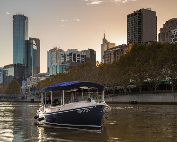 yarra river boat cruise for couples celebrating valentines day