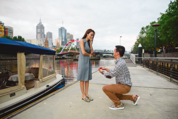 romantic ideas for proposing marriage in Melbourne