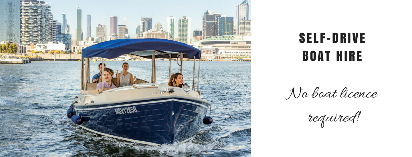 self skippered boats for rent in Melbourne