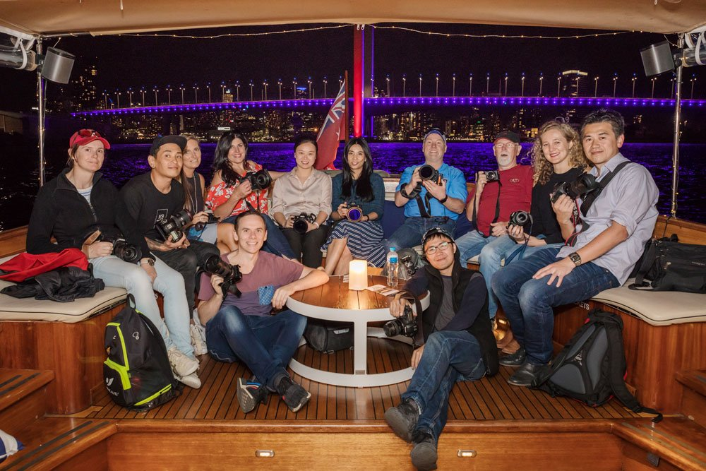melbourne sunset photography cruise participants