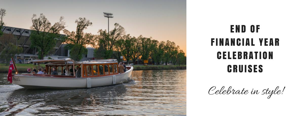 yarra river cruise for EOFY celebration