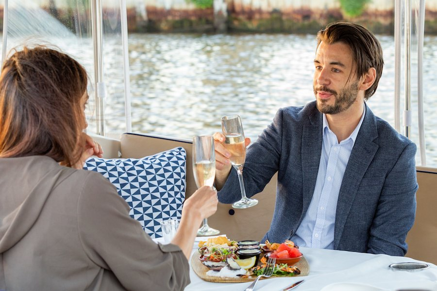 romantic luxury day cruise with dining in melbourne