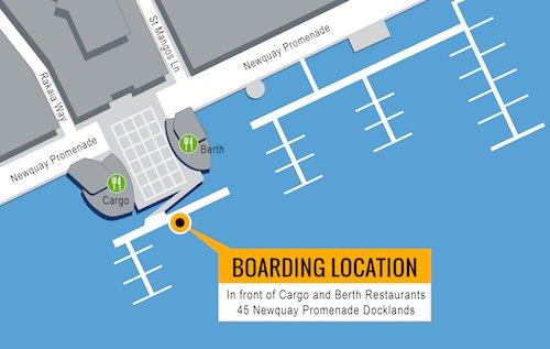 Boarding Location Map