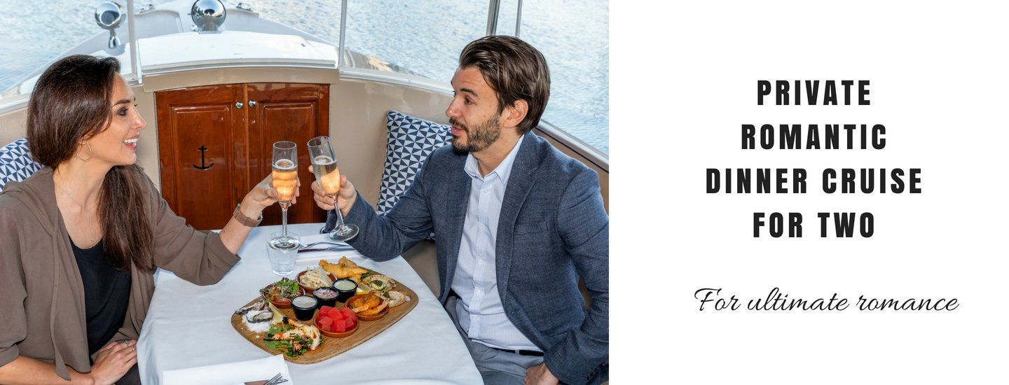 romantic dinner cruise for two