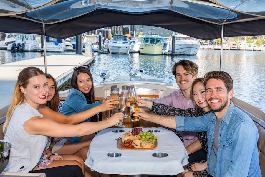 book 2 hour skippered cruise on Yarra River