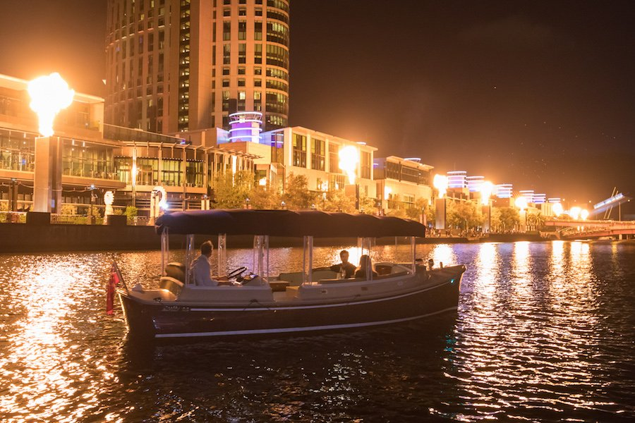 luxurious boat cruises on the Yarra River