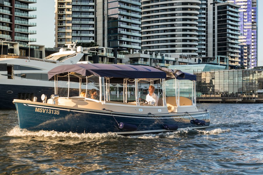 lunch passenger boat cruise operators in melbourne