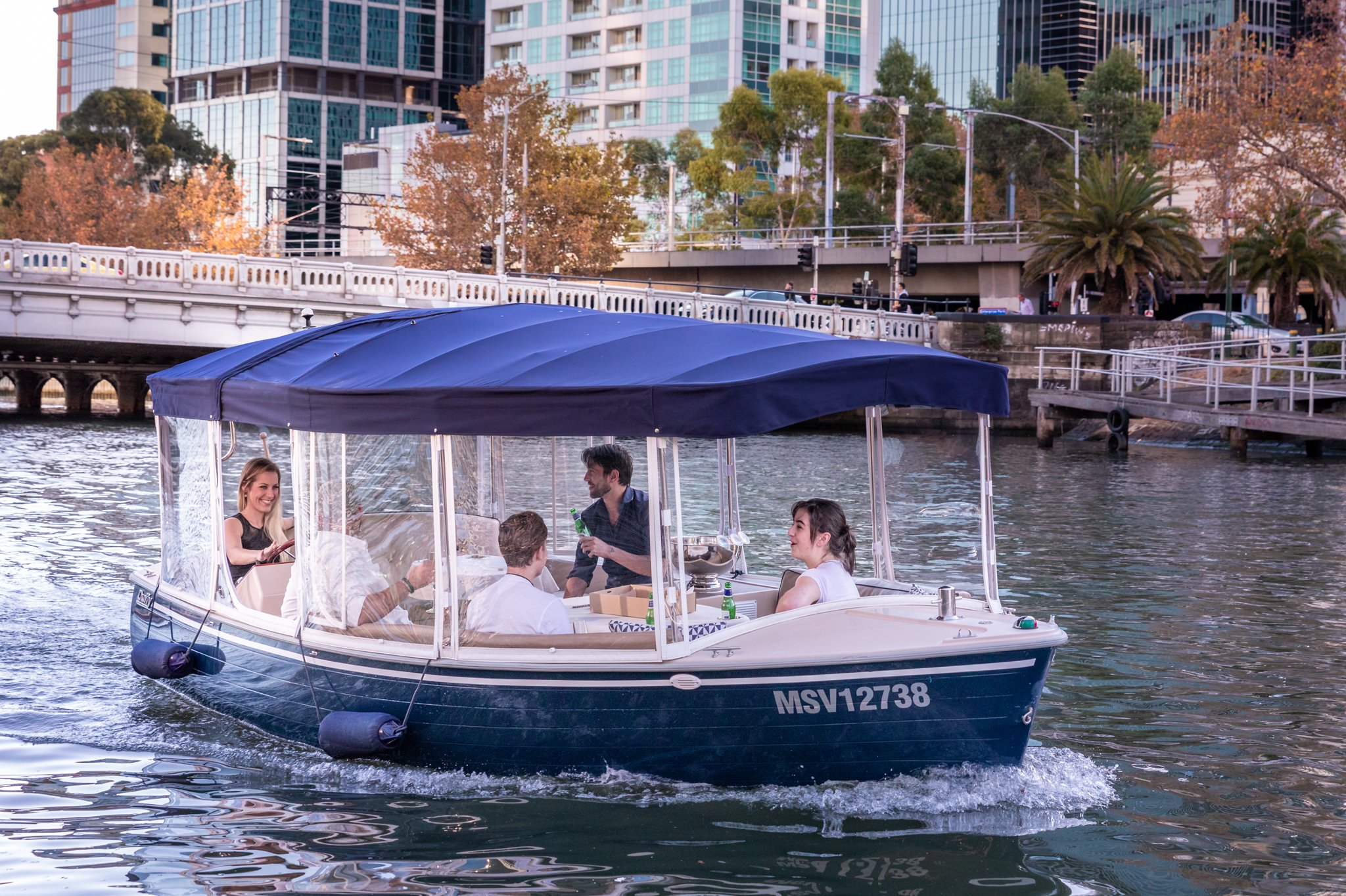 Harvey -a Luxury Boat Hire Melbourne