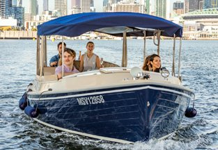 SELF -DRIVE BOAT HIRE