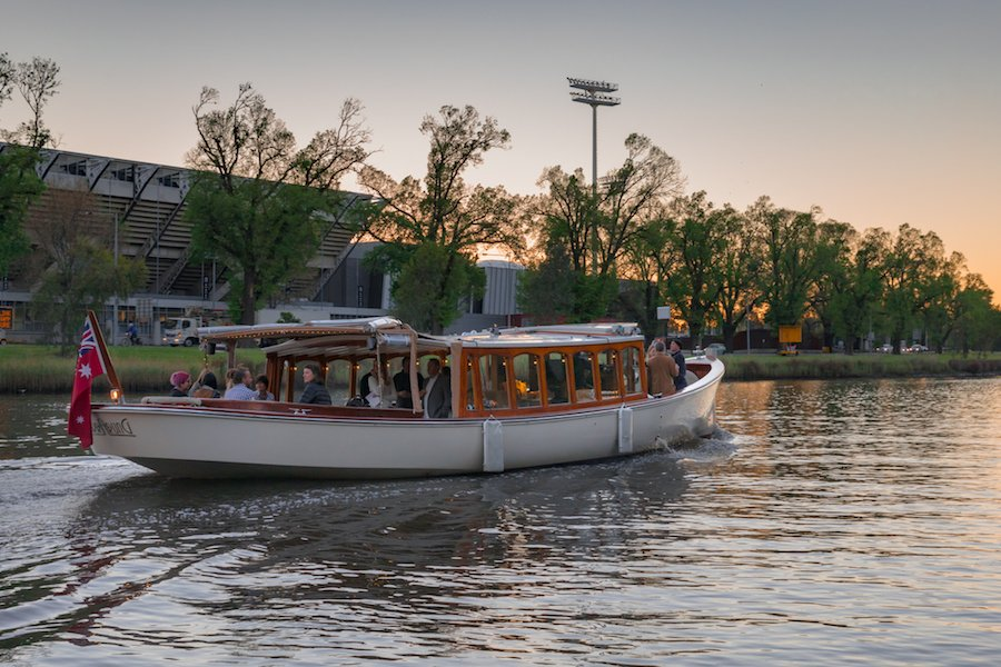 guided river boat tours south banks melbourne