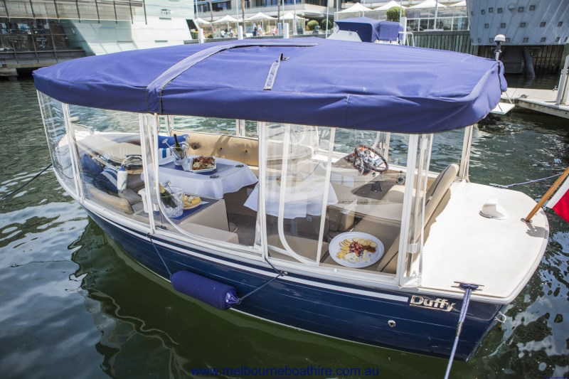 Melbourne Boat Hire - Harvey A - Luxury self-drive hire boat
