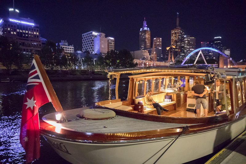 private boat trips on luxury yachts in Melbourne