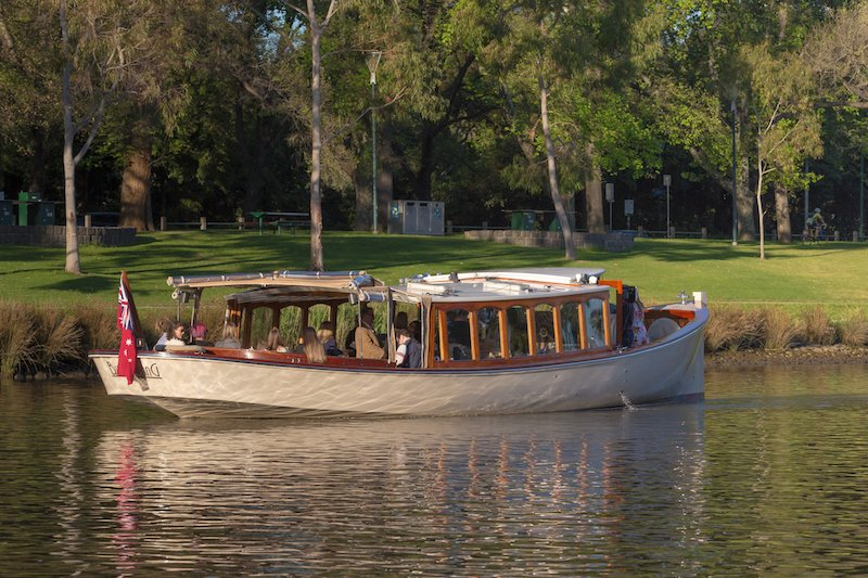 scenic boat tours on Melbourne waterways