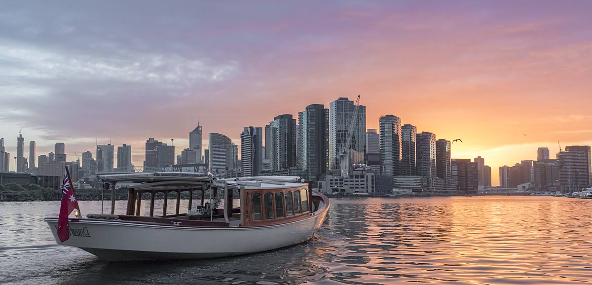 boat trips and sunset cruises in melbourne