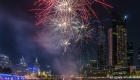 celebrate the new year, with a cruise and optimum fireworks viewing from the yarra river in Melbourne