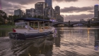 ideal eofy celbration ideas- charter a private cruise boat and have a catered trip on the Yarra River in Melbourne