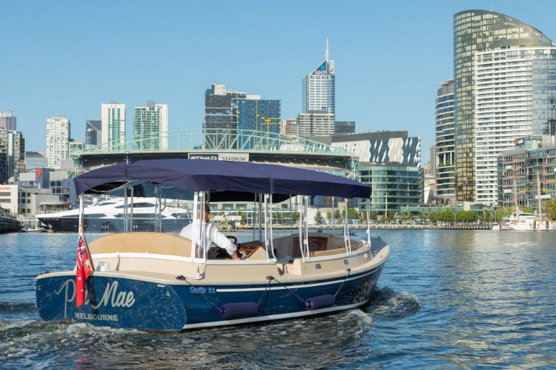 luxury 12 seater yacht for hire in Melbourne