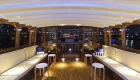 see out the old financial year- and welcome the new one aboard a luxury party boat