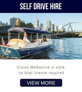 melbourne boats for hire, self-drive without a special licence